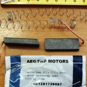 Угольные щетки, тахогенераторы для электродвигателей стиральных машин