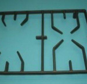 Чугунные решетки, решетки, подставки для электрогазовых и газовых плит